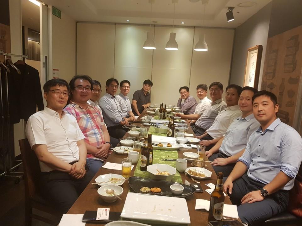 2018 한국경제신문 부동산 PF 최고위과정 강사진 모임
